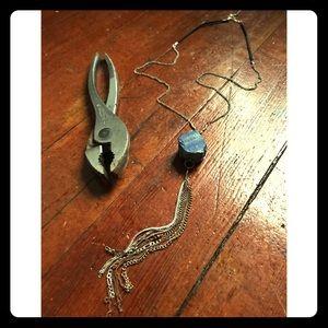 Raspy Timbre Handmade River Bend Necklace